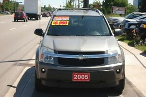 2005 Chevrolet Equinox CERTIFIED-CLEAN IN/OUT-132 KM LOADED AWD