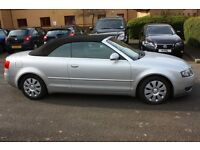 Audi A4 1.8T S-line Convertible Spares/Repairs