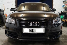 Audi A3 2011 black edition quattro sline 170 tdi, vgc with 1 year+ warranty remaining (transferable)