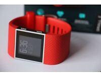Fitbit Surge Fitness Super Watch - SMALL- Orange