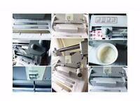Perfect binding machine with roughener and nipping bar - S460DH SRA3