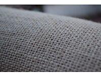 Rustic Natural Hessian Burlap Fabric Wedding Roll Table Runner 305g/m2