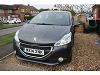 Peugeot 208 Active 1.2 Petrol 2014 5-Door in Shark Grey