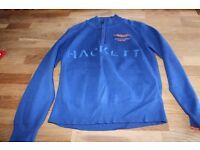 Boys Hackett Aston Martin jumper blue