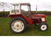 INTERNATIONAL 444 ROAD REG WORKING TRACTOR SEE VIDEO CAN DELIVER NO VAT