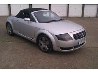 Audi TT 2000 Breaking Garage Clear out