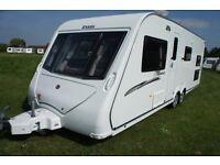 2010 Elddis Avante 646 6/7 Berth Caravan Triple Bunks