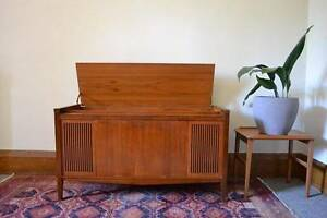 70's cabinet / sideboard - previously for record player, records Brunswick Moreland Area Preview