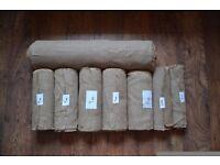 Rustic Natural Hessian Burlap Wedding Roll Table Runner 305g/m2