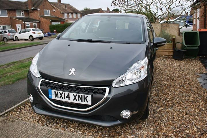 Peugeot 208 Active 2014 5 Door In Shark Grey 1.2 Petrol
