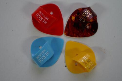 3-Pack of Herco Flat Thumb Picks - Medium