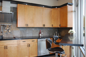 Kitchen Cabinet/cabinets on sale!-Honey Maple