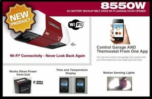 Liftmaster 8550w WIFI BELT GARAGE DOOR OPENER INSTALLED