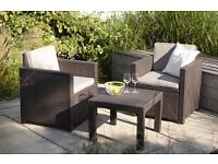 New Garden Patio Decking or Conservatory Set. Brand New in Box. Best Offer.