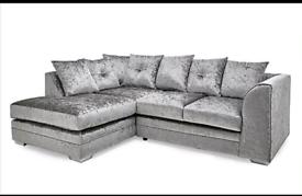Brand new Sofas in Crushed velvet