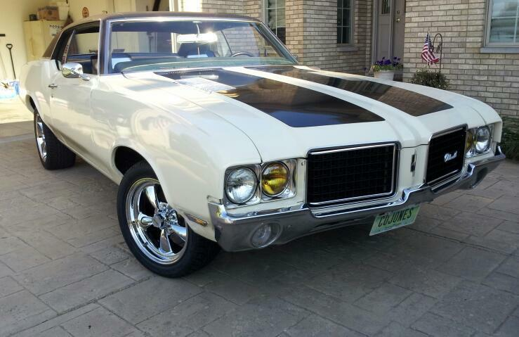 1972 Oldsmobile Cutlass Cutlass S 1972 Oldsmobile Cutlass Muscle Car