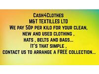 cash4clothes FREE collection