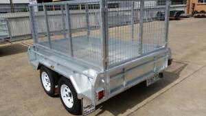 New 8x5 Galvanised Trailer with cage, spare wheel and 12 mths rego Hindmarsh Charles Sturt Area Preview