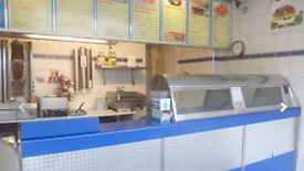 Fast Food Takeaway/FISH & CHIPS + ACCOMMODATION (Leasehold) Stoke-On-Trent