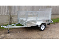 Paxton 8' x 5' Trailers - Standard, Caged and Caged & Ramp