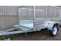 New Paxton 6' x 4' Caged Trailer