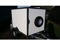 Tickners ECo Box Trailer (6' x 4' x 4') in White