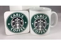 Personalised Starbucks Style Coffee Mugs