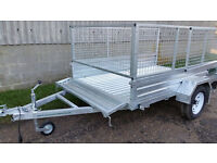 New Paxton 8' x 5' Caged Trailer