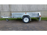 Paxton 7' x 4' Trailers - Standard, Caged and Caged & Ramp