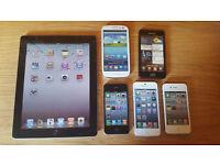Dummy mobile phones iPhone 4s 5s iPad 2/3 Samsung Galaxy S2 S3