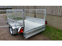 Paxton 7' x 5' Trailers - Standard, Caged and Caged & Ramp