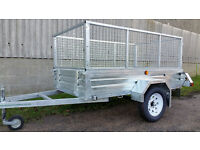 New Paxton 7' x 4' Caged Trailer