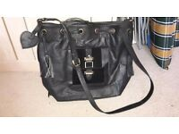Brand New Leather Bucket Bag