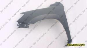 Fender Front Passenger Side With Flare Hole With Antenna Hole CAPA Toyota Rav4 2006-2012