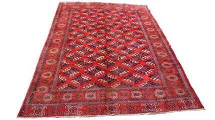 Genuine Persian Handmade Turkmen Tribal Wool Rug + Over 200 More Hornsby Hornsby Area Preview