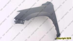 Fender Front Driver Side With Flare Hole CAPA Toyota Rav4 2006-2012