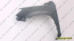 Fender Front Driver Side Without Flare Hole CAPA Toyota Rav4 2006-2012
