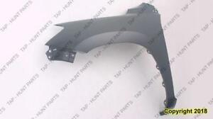 Fender Front Passenger Side Without Flare Hole With Antenna Hole Toyota Rav4 2006-2012