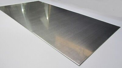 2024 Aluminum Sheet T3 .125 18 Thick X 24 Width X 48 Length