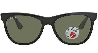 Ray-Ban New Wayfare Polarized Sunglasses (RB4184 601 9A) Black/Green $180 (Ray Ban Shield Wayfarer)