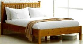 DOUBLE OAK BED BRAND NEW WAS £500 TODAY OFFER £159