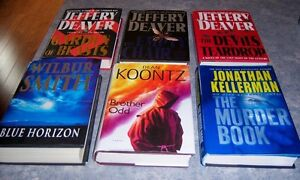 Jeffrey Deaver BROWN-,KOONTZ,- Holt etc. Kingston Kingston Area image 7