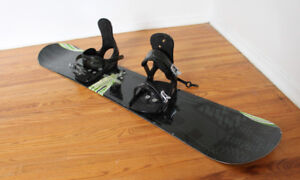 Morrow Lithium Snowboard 159 + Bindings / Boots