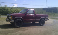 1989 Chevy Shortbox 4x4 5spd