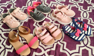 Baby Girl Sandals, Running Shoes, &Clothing*Brand New&EUC 9-18mo