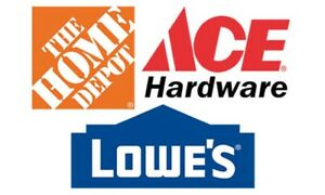 LOWES / HOME DEPOT GIFT CARDS or STORE CREDIT CARDS WANTED