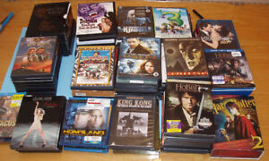 DVD et BLU-RAY, LOT DE PLUS de 100 FILMS