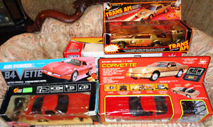 Remote Control Battery Operated Air Powered 84 Vette's Trans AM