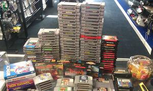 Buying ALL Nintendo/Sega/Atari
