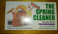 cleaner housekeeper garden help  available